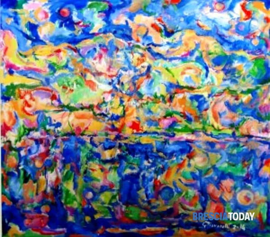 Una tela di Giuseppe Piovanelli